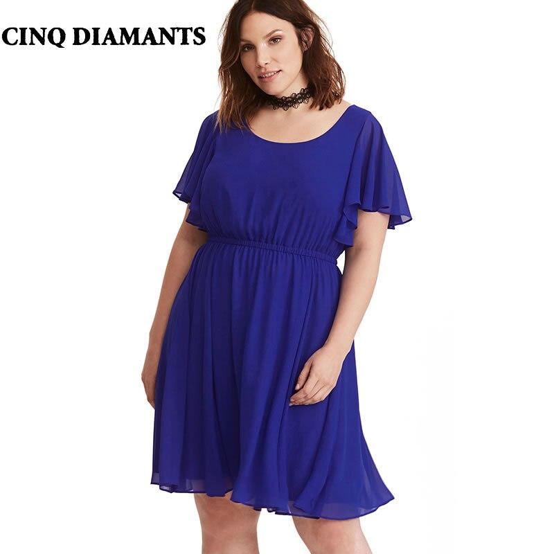 Aliexpress.com : Buy CINQ DIAMANTS Short Sleeve Chiffon
