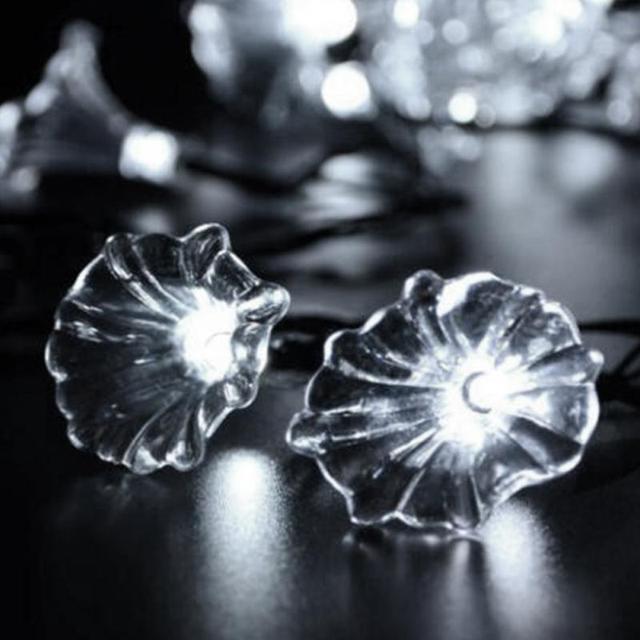 aliexpress com buy xmas christmas 20 led morning glory flower