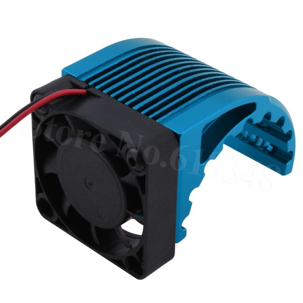40*40mm aleta disipador DC 5 V ventilador para Hobbywing RC leopardo Motor sin escobillas 42mm 1515 4274 4268 812 T8 K80 4272