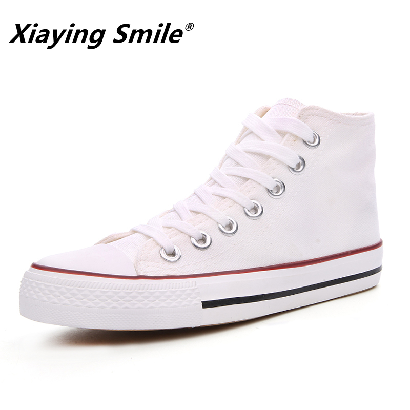 Autumn and Spring Fashion New Paragraph High upper Canvas Shoes Outdoor Leisure Men  Shoes Fashion Students Casual Shoes