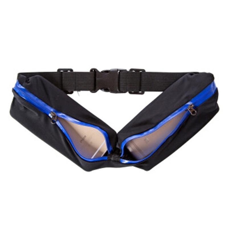 Waist Bag Double Pocket Sport Bags Women Sport Bag...