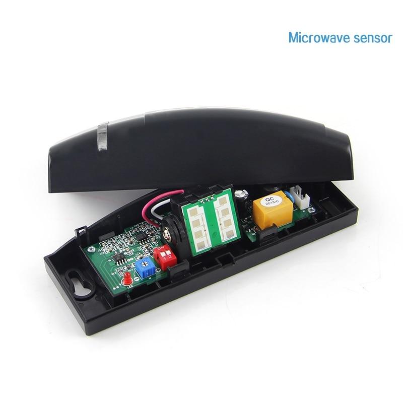 Automatic door sensor probe automatic door 24G microwave sensor door sensor free shipping 50pcs lot 24ghz type automatic door microwave sensor lt s24a black and silver color