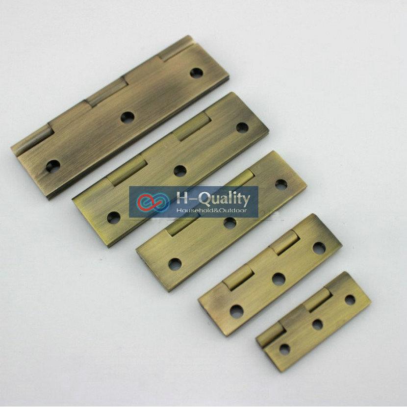 FREE Bronze Screws 10PCS/Lot Antique Bronze 3 Inch (75MM) Length Solid Brone Door Hinge, Antique Bronze Color Door Hardware