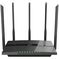 UTT AC60 Dual Band Wireless AC Router 1200Mbps 5 High Power 7dBi Antennas USB For File