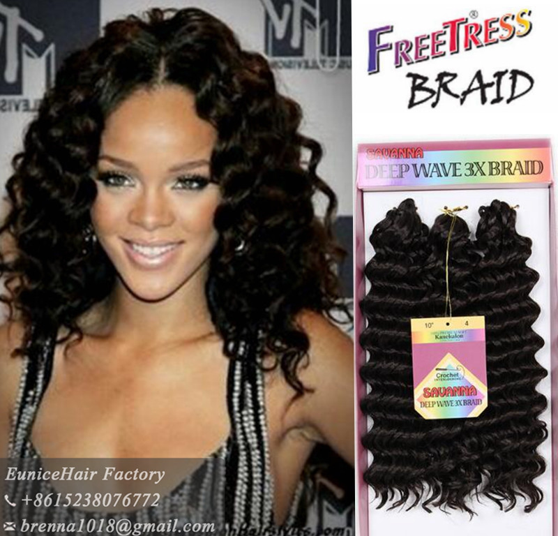 Caribbean Faux Remi Crochet Braid Bundle 3c Natural Cork 10 Inch Deep Wave Twist Freetress Braids Synthetic Water On Aliexpress Alibaba