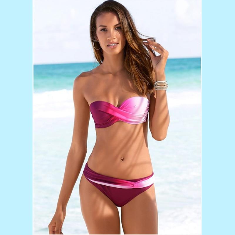 HTB17vHma5YrK1Rjy0Fdq6ACvVXak Women Sexy Print Swimwear 2019 New Female Two Piece Swimsuit Female Separate Push Up Bikini Set Beach Bathing Suit Micro Bikini
