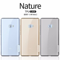 Xiaomi Mi Note 2 Case Xiaomi Mi Note 2 TPU Back Cover NILLKIN Nature Clear TPU