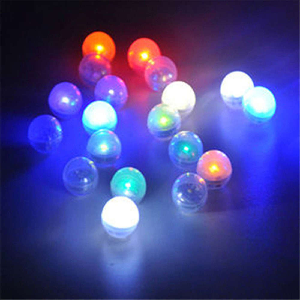 (1200 pieces/ lot) Battery Waterproof Mini LED Party Light Floating LED Balls Firefly Ef ...