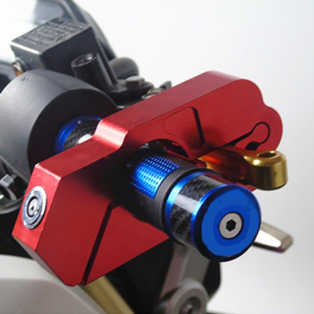 Bloqueo del manillar de la motocicleta del coche Scooter ATV freno embrague seguridad robo protección cerraduras para Honda Yamaha