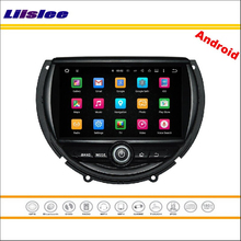 Liislee Car Android Multimedia For BMW Mini 2014~2016 – Stereo Radio Audio CD DVD Player GPS Nav Navi Map Navigation System