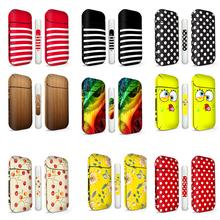 Ambrose Vape w nowym stylu IQOS naklejki wzór w paski IQOS skóry 15 kolorów w magazynie tanie tanio IQOS Sticker