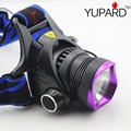 YUPARD CREE XM-L2 LED Farol Lanterna Head Lamp Luz Caça Camping pesca ao ar livre esporte T6 LEVOU 18650 bateria