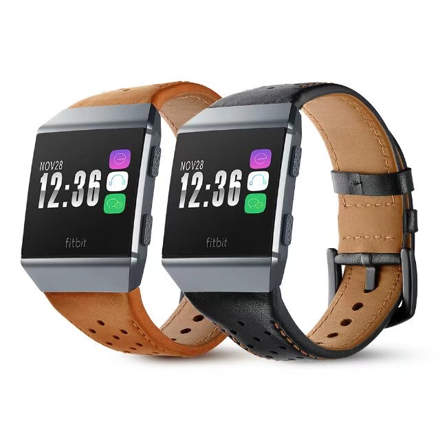 For Fitbit ionic Watch Bracelet Genuine Leather Band Replacement Accessories Straps For Fitbit Ionic Wrist Strap Watchband replacement accessory metal watch bands bracelet strap for fitbit alta fitbit alta hr fitbit alta classic accessory band