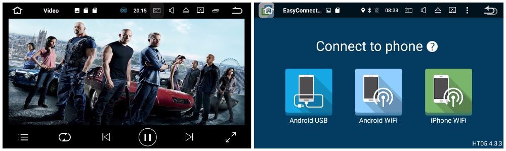 sistem navigatie android 7 comenzi volan internet waze caraudiomarket craiova
