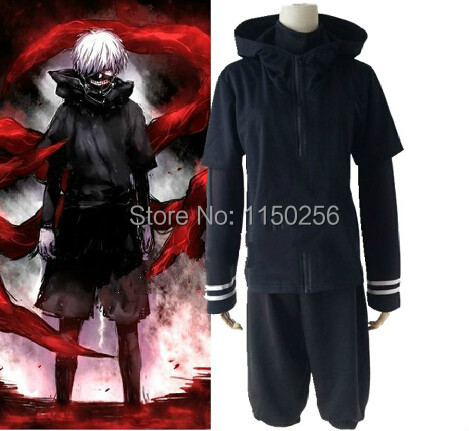 Ardhja e Re Anime Tokio Ghoul Kaneki Ken Costplay Costume Halloween - Kostumet