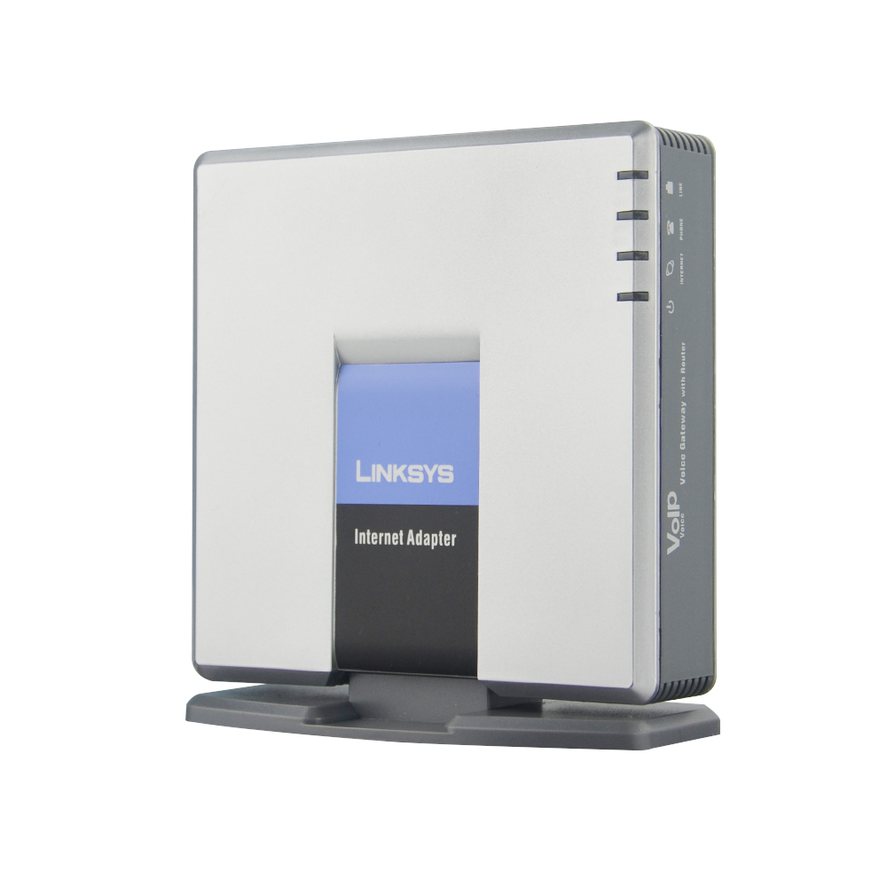 Fast free Shipping!UNLOCKED LINKSYS SPA3000 VOIP FXS VoIP <font><b>Phone</b></font> Adapter SPA3000 FXS IP <font><b>PBX</b></font> voice over IP VOIP adapter product