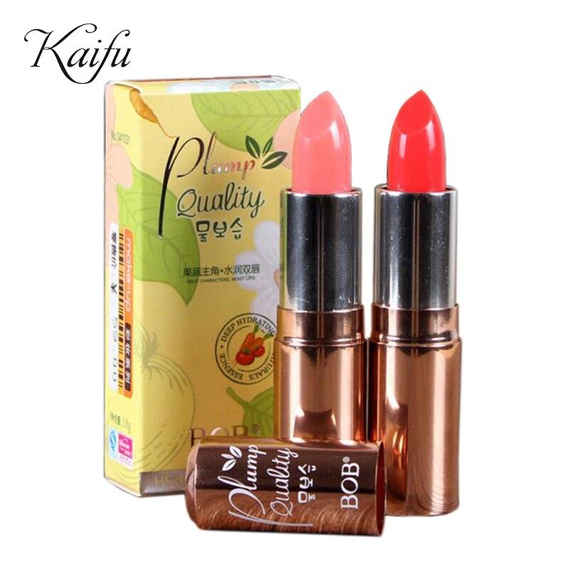 Bob Brand Makeup 2 Colors Carrot Element Lipstick Tomato -7305