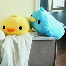40/50 Cm Soft Duck Plush Toy Stuffed Animal Cotton Pillow Cushion For Sofa Home Decoration