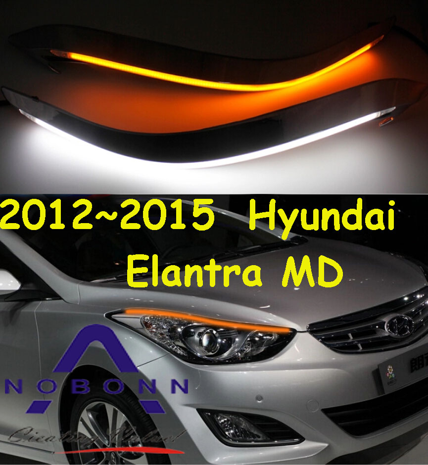 ФОТО Elantra daytime light,MD,Avante,2012~2015;Free ship!LED,Elantra fog light,2ps/set,verna,Elantra,sonata