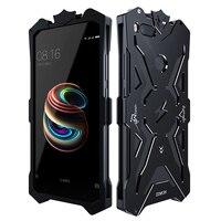 Zimon Brand Case For Xiaomi Mi5x Shockproof Outdoor Metal Back Cover Aluminium Frame Anti Knock Case