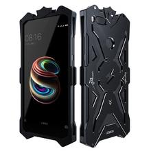 Zimon חזקה עמיד הלם בורג מתכת מקרה עבור Xiaomi mi a1 אלומיניום מקרי טלפון Xiaomi mi 5x xiaomi mi a1 5.5 אינץ