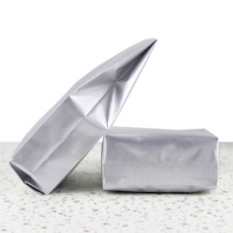 Бесплатная доставка экспресс почтой DHL 5*12 + 2 1500 шт./лот с открытым верхом вертикальный алюминиевый фольга с прозрачным окном для еда для вечеринки, подарочная упаковка, складные кармашки