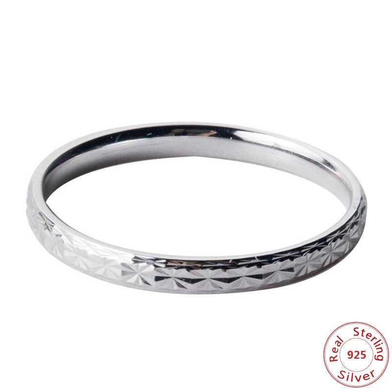 แท้ใหม่ 925 เงินสเตอร์ลิงแหวนหางแหวนๆโอกาสคริสต์มาสของขวัญ 925 เงิน