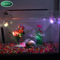 LED Aquarium Submersible Lamp Light With Suction Cup For Water Garden Pond Pool Fish Tank USB