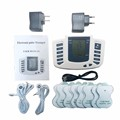 Hot new Electrical Stimulator Full Body Relax Muscle Therapy Massager,Pulse tens Acupuncture +16 pads