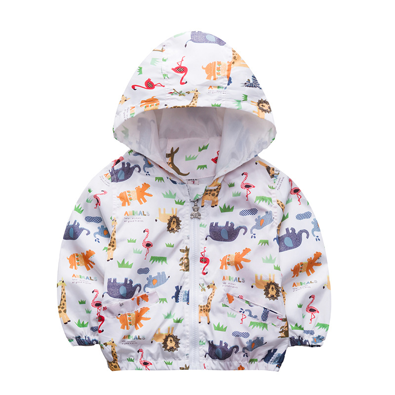 Children Coat Autumn New Kids Jacket Boys Girls Outerwear Hooded Coats Windbreaker Baby Clothes Clothing 2018 autumn winter boys clothing girls clothing vestidos beau loves new christmas kids clothes children jacket coat down
