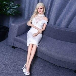 Image 3 - 유럽 스타일의 섹스 인형 158cm TPE 진짜 인형 섹스 가슴 음부 질 섹스 제품 자위 인형 사랑 성인 완구