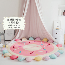 145cm football basketball Carpet Rugs Nordic Style Living Room Bedroom Soft Thicken Round Carpets For kids room Anti-slip carpet