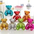 2016 высокое качество малый размер плюшевый мишка фаршированные мягкие дети игрушка красочные симпатичные anminal кукла подарок для детей бесплатно доставка