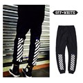 OFF WHITE Mens Joggers offwhite Trousers blue collar Drawstring Tracksuit Fitness Joggers Sweat Pants offcwhite Men Joggers