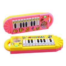 цена на 1 Pcs Baby kids Piano Early Educational toy Infant Toddler Musical Enlightenment Toy Children Good Gift Free Shipping J75