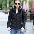 2016 New Winter Jacket Women Short Slim Thickening Warm Down Wadded Jacket Female Winter Coat Women Jackets