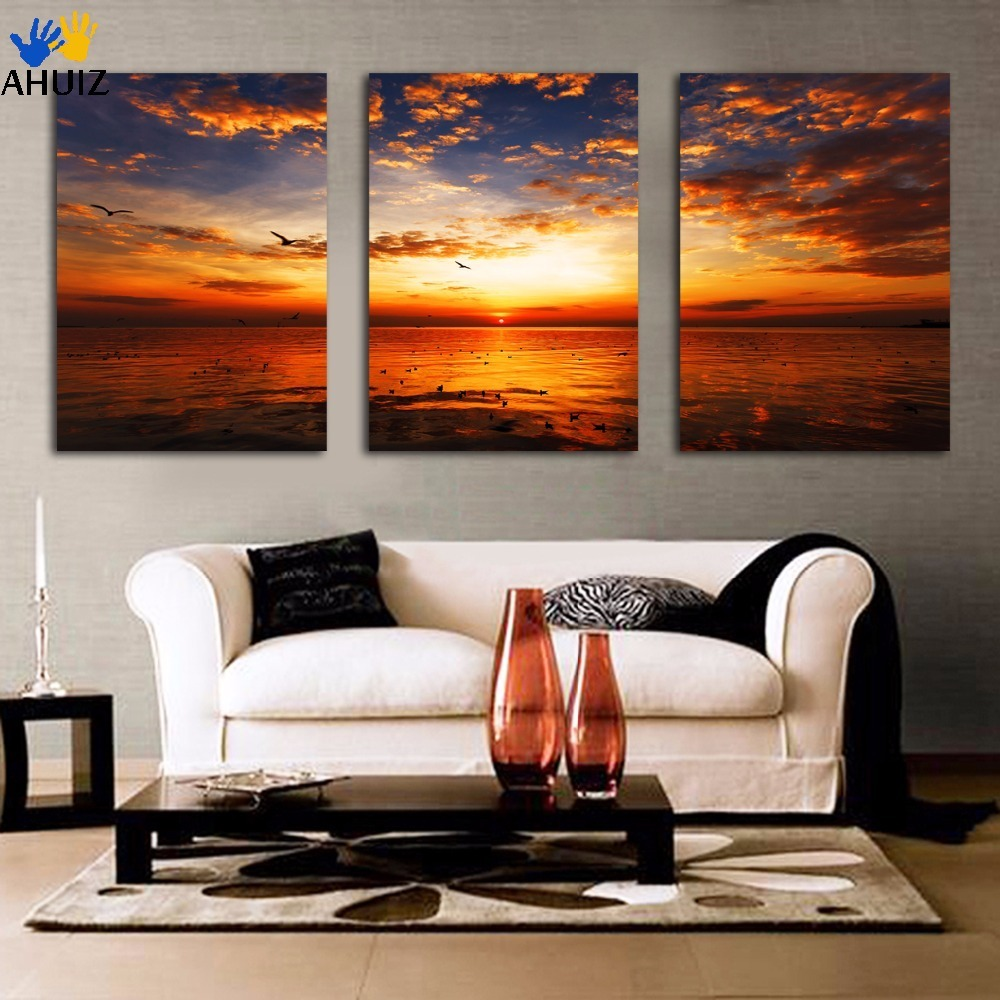 Free shipping Framed HD Ocean Scenery Painting Printed On Canvas For Living  Room bedroom Home Decoration Wall Art Picture F241Ocean Paintings Framed Promotion Shop for Promotional Ocean  . Framed Pictures For Living Room. Home Design Ideas