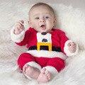 Los niños la Navidad Ropa Set Niños Bebés y Niñas Traje y Vestido de Navidad de Santa Claus Trajes Recién Nacido Ropa Enfant