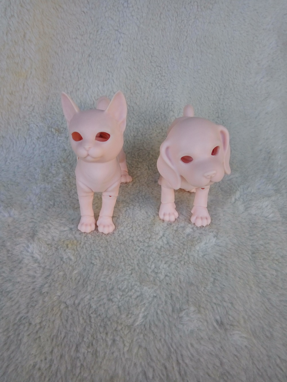BJD- cute kittens and puppy high quality toys for sale