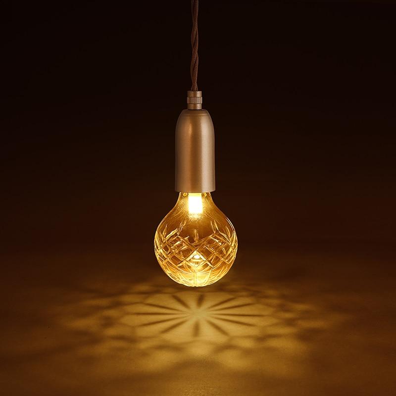 Здесь можно купить   Loft Retro Golden lighting modern minimalist E27 LED crystal glass chandelier coffee shop clothing store decoration lamp Lights Строительство и Недвижимость