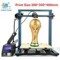 Creality cr-10 serie 3D Kit de impresora tamaño de impresión 300/400/500mm Brico-Escritorios 3D impresora filamento libre con cama envío libre
