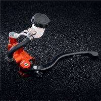 Universal 17.5mm for Adelin PX1 Motorcycle Brake Clutch Pump Master Cylinder Lever Direct Push Handle For Yamaha Kawasaki ninja