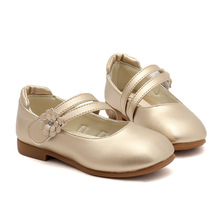 цены Children Shoes Girls Kids Shoes 2019 Spring Autumn Princess Party Dress Shoes Toddler Baby Pu Leather Flower Girl Wedding Shoes