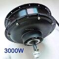 E-bici habló hub motor 48 V ~ 96 V 3000 W motor sin escobillas con 50mm imanes/rápida velocidad de la bicicleta eléctrica y scooter motor G-M033