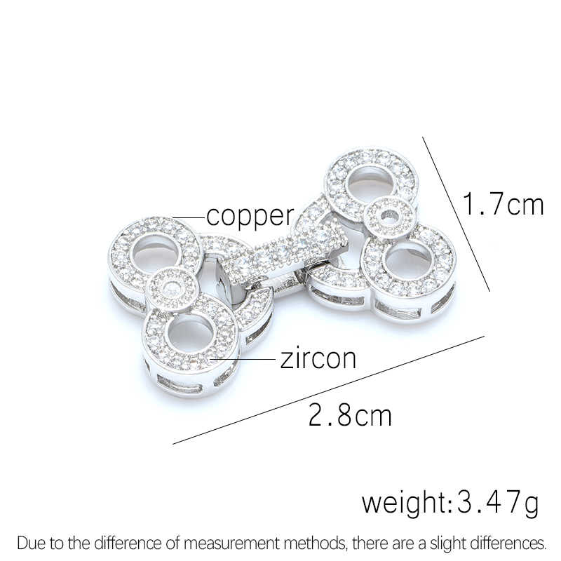 Br> <br> <br> <br> <br> <br ผลการค้นหาเครื่องประดับ DIY สร้อยข้อมือไข่มุกสร้อยคอ Clasps Micro Pave Zircon Rhinestone ทองแดงโลหะ