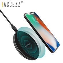 !ACCEZZ 10W Qi Wireless Charger Universal All Smart Phone For Samsung Galaxy S8 S9 Xiaomi MIX2 iPhone X/XS Max XR 8 Plus
