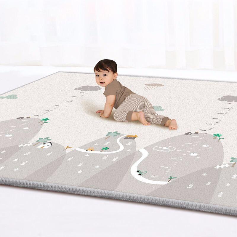 Double-face Bébé tapis Bébé Salon Escalade Tapis Maison Inodore résistant à L'humidité tapis de jeu des Enfants