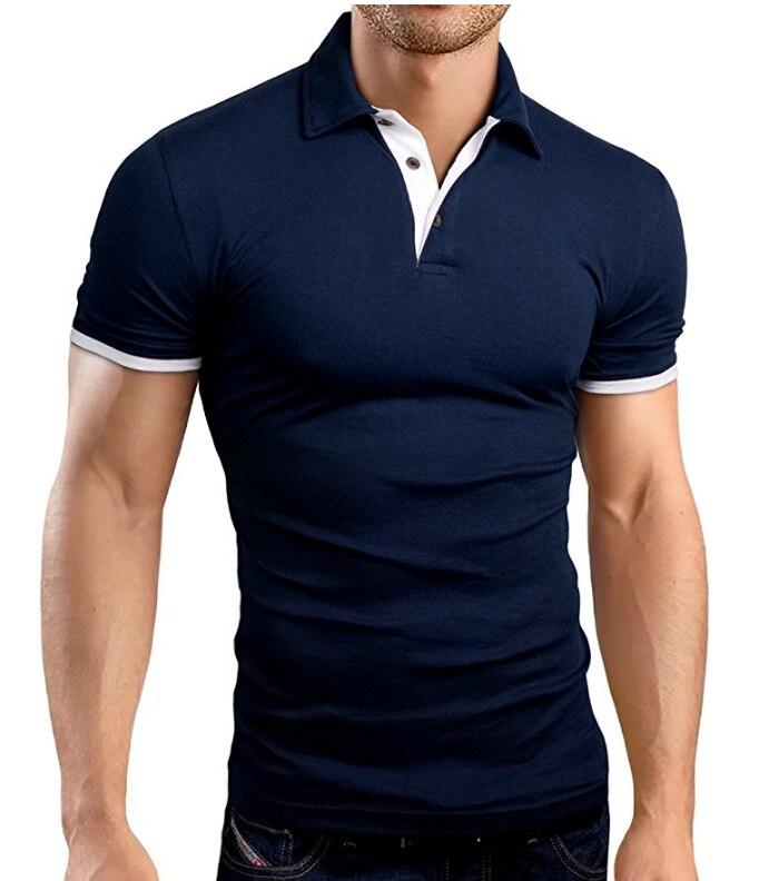 Brand New Men's   Polo   Shirt Men Cotton Short Sleeve Shirt Sportspolo Jerseys Golftennis Plus Size M-3XL Camisa   Polos   Homme