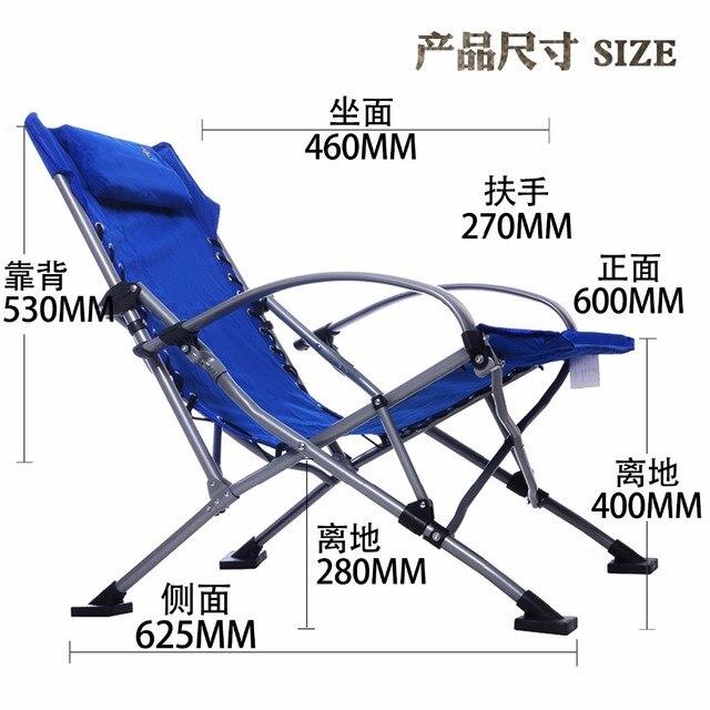 Cadeiras de Praia Cadeira de pesca Ultra Leve Cadeira de Praia de Acampamento Ao Ar Livre Portátil Dobrável Cadeira Leve Para Caminhadas Pesca Picnic