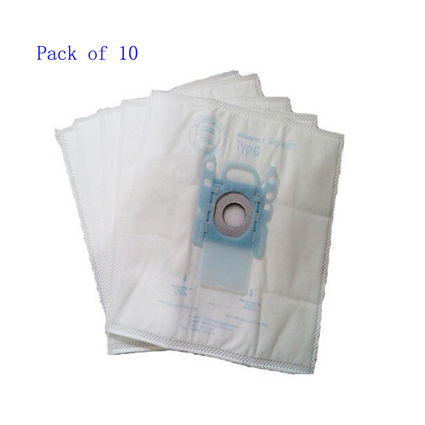 10 pack vacuum cleaner dust bag replacement for Genuine Bosch Microfibre Type G GXXL GXL MegaAir SuperTex BBZ41FGXXL Nonoriginal gxl 8fi
